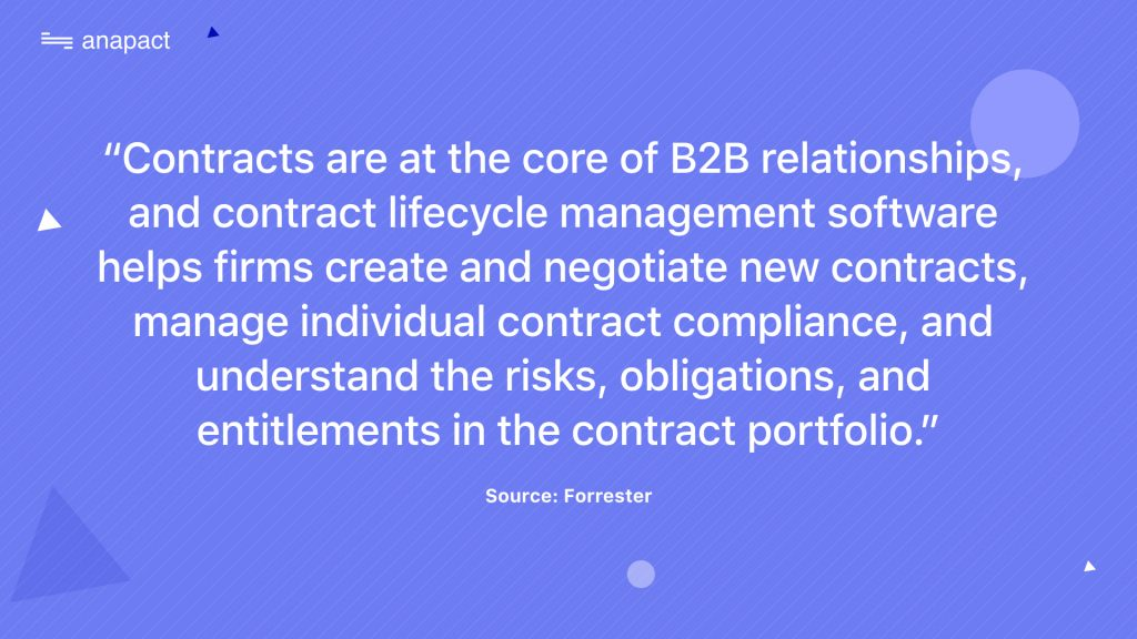 Contracts are at the core of B2B relationships