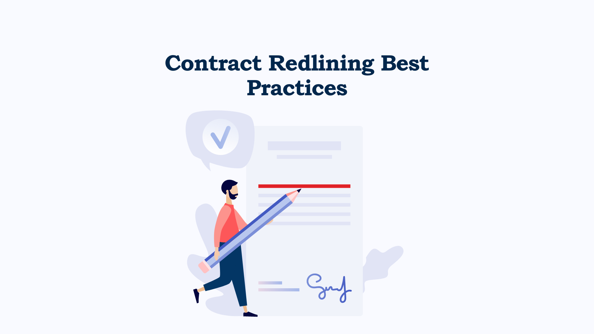 contract redlining best practices
