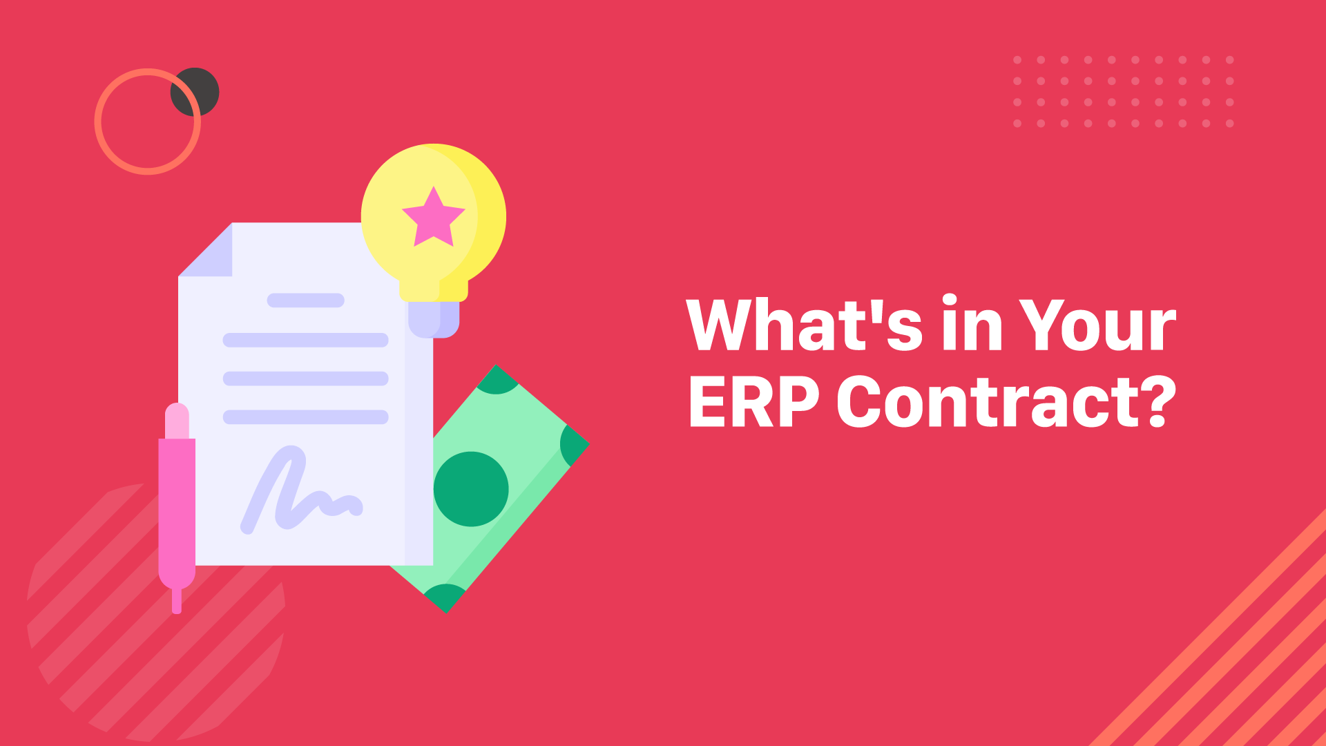3 ERP & CRM Contract Pitfalls to Watch Out For