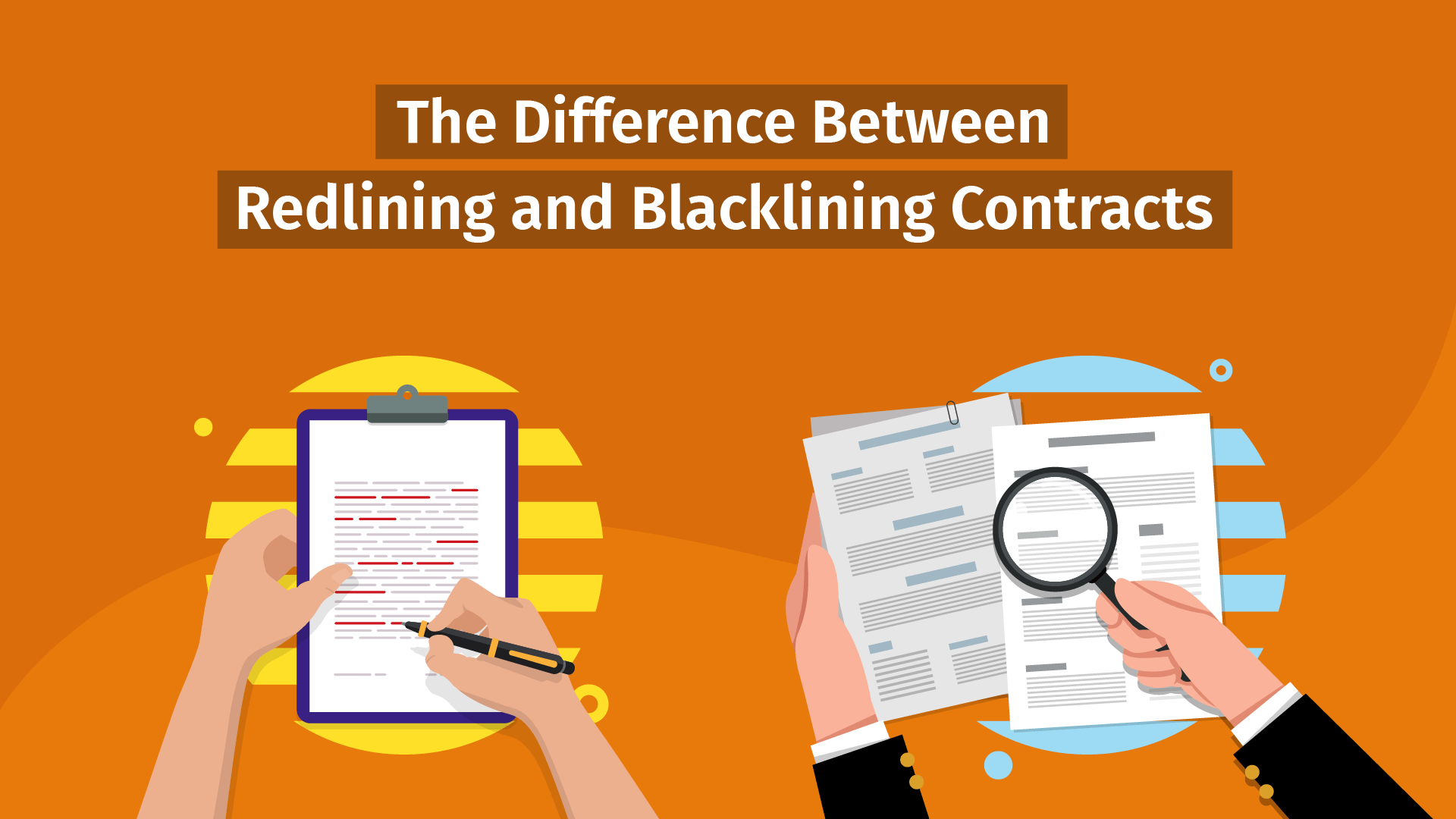 redlining and blacklining contracts